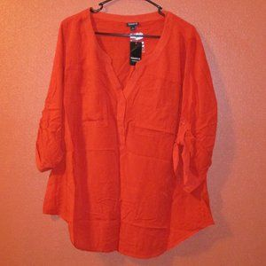 Torrid Red Pullover Front Pockets Sz. 1